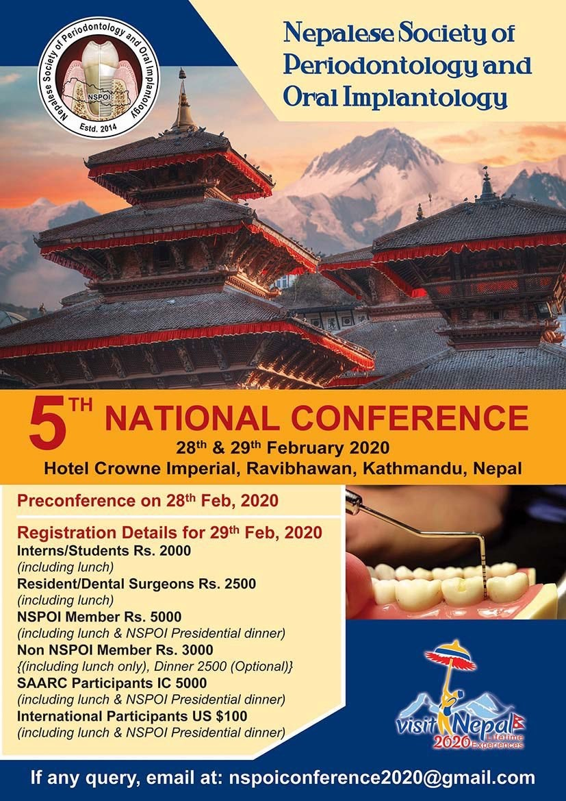 5th National Conference – Society of Periodontal & Oral Implantory